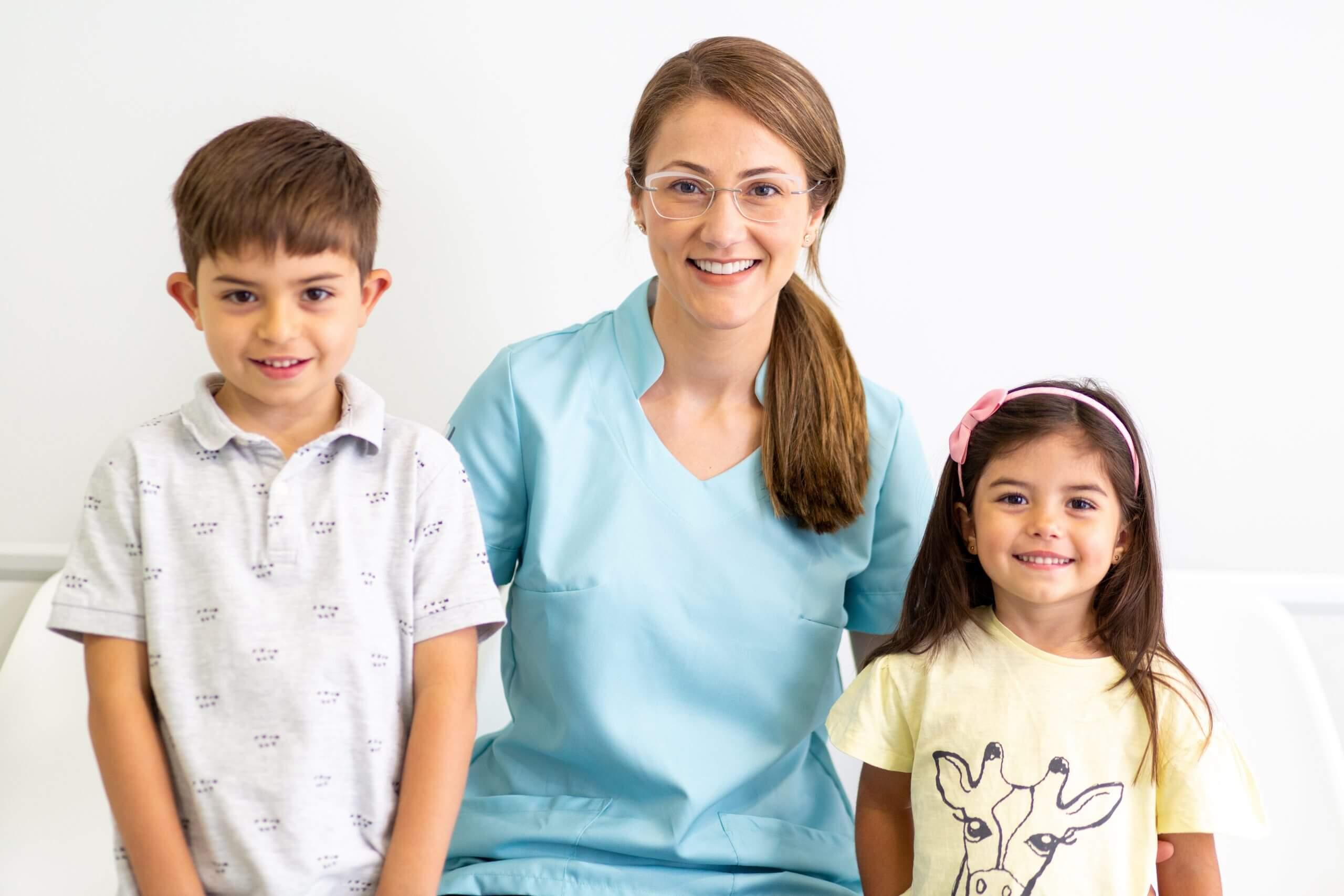salud dental para niños